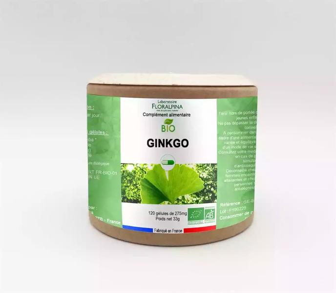 Rue des Plantes - Ginkgo BIO 120 gélules
