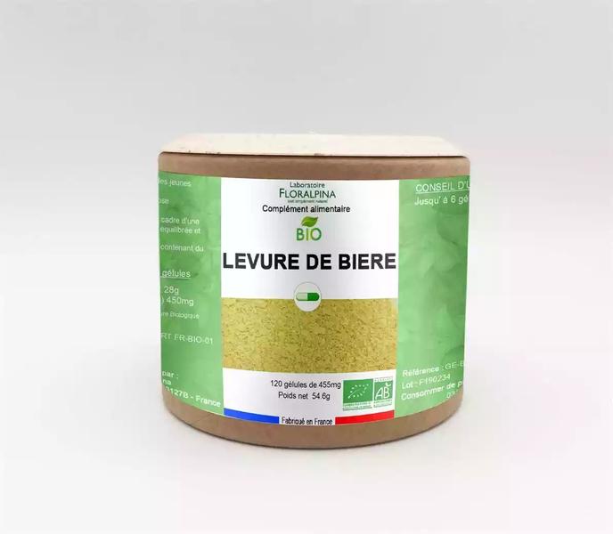 Rue des Plantes - Levure de bière BIO 120 gélules