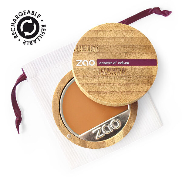 Zao MakeUp - Fond de teint compact 736  Topaze