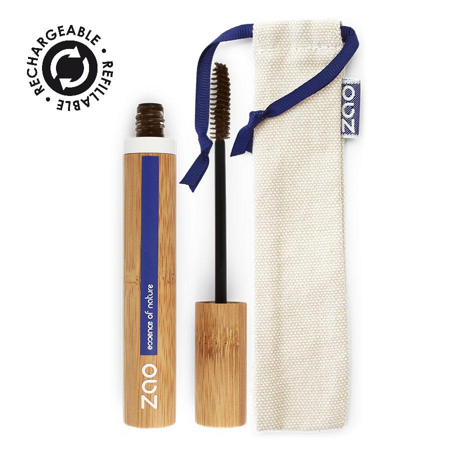 Zao MakeUp - Mascara Aloe Vera 091 Brun Foncé