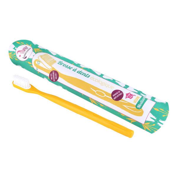 Lamazuna - Brosse à dents rechargeable médium Jaune