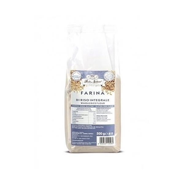 Saveurs de Tosca - Farine BIO de riz intégral Pasta Natura - 500 gr italien sans gl