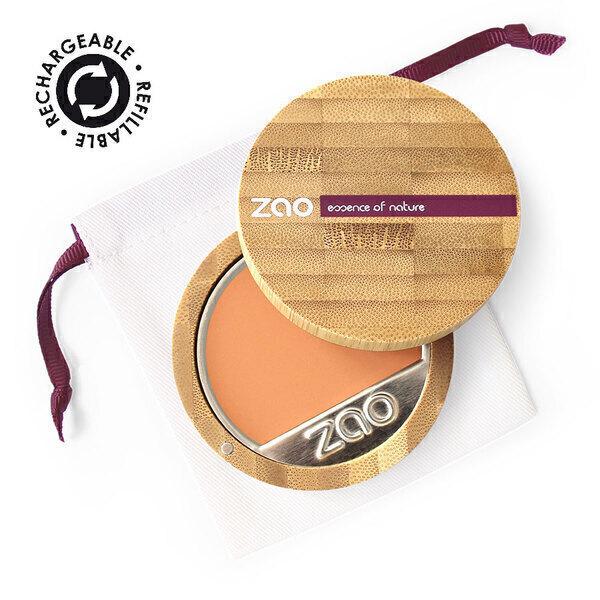 Zao MakeUp - Fond de teint compact 731 Abricot
