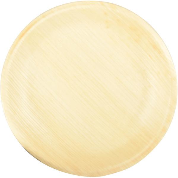 PAPSTAR - 25 Petites Assiettes Rondes (18 cm) - Feuille de Palmier