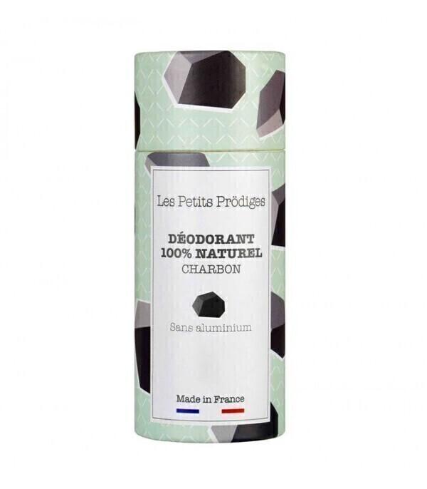 Les Petits Prodiges - Déodorant solide naturel charbon eucalyptus