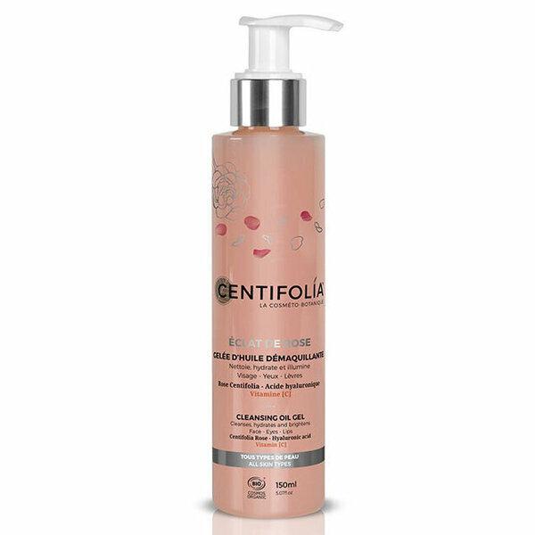 Centifolia - Gelée d'huile démaquillante bio - Eclat de Rose 150ml