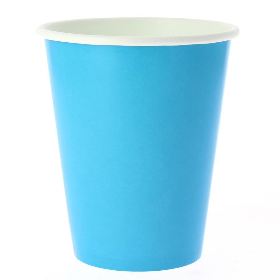 EXCLUSIVE TRADE - 8 Gobelets Compostable Turquoise