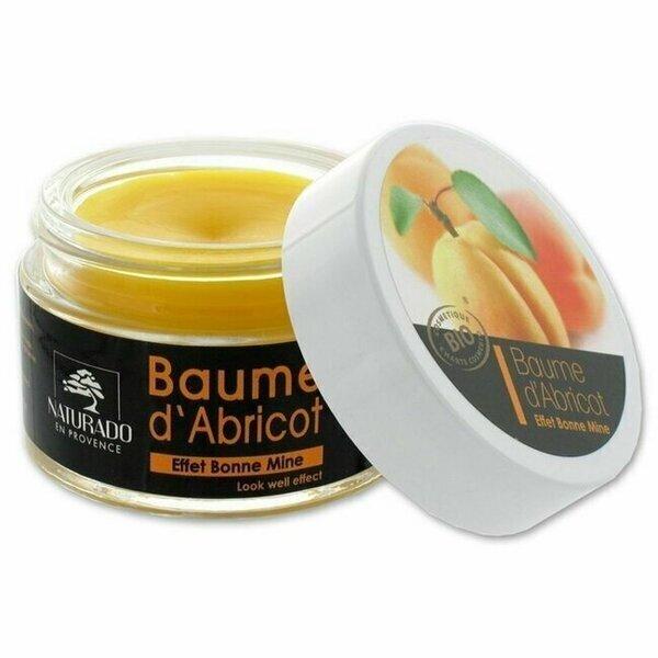 Naturado - Baume d'Abricot bio Effet bonne mine - Pot 45g