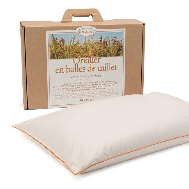 Mille oreillers - Oreiller en balles de Millet - 40 x 60 cm