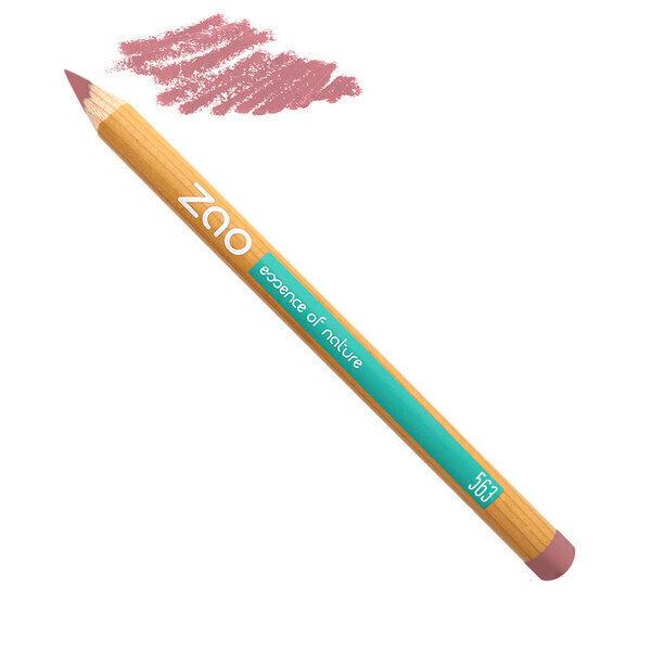 Zao MakeUp - Crayon Lèvres 563 Rose Vintage