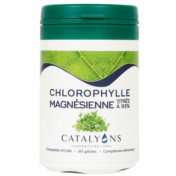 Catalyons - Chlorophylle magnésienne - Pot de 60 gélules