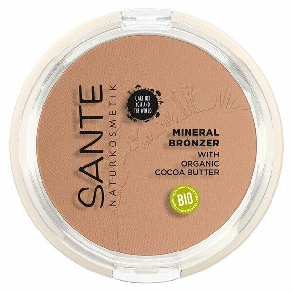 Sante Naturkosmetik - Poudre 2 en 1 Bronzante et Contouring 9g