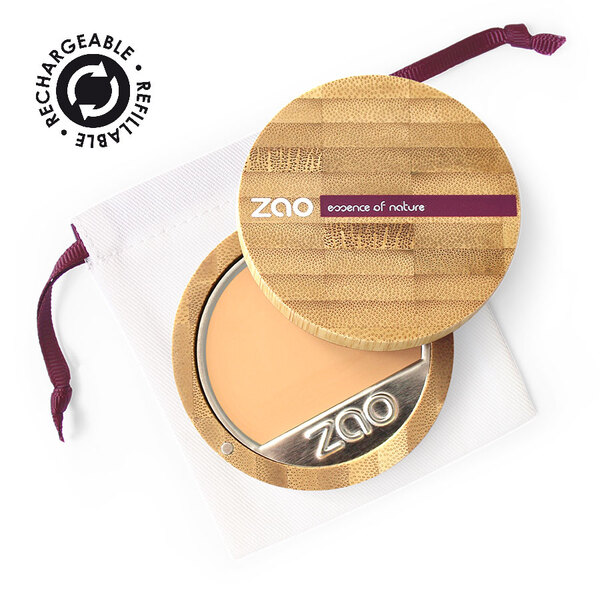 Zao MakeUp - Fond de teint compact Très clair ocre