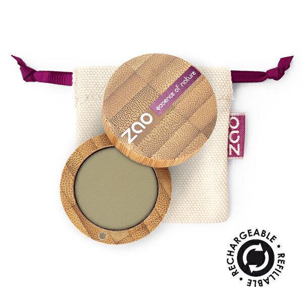 Zao MakeUp - Ombre à paupières mate 207 Vert olive