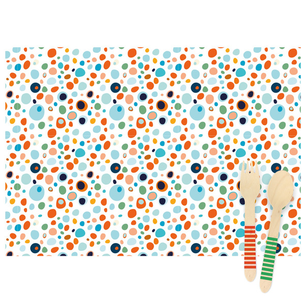 Annikids - 6 Sets de table Dots - Recyclable