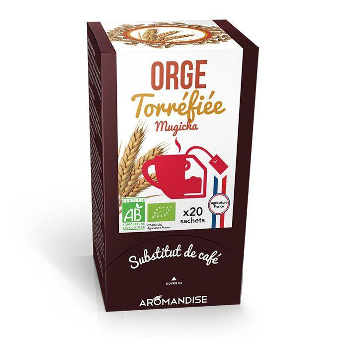 Aromandise - Orge torréfiée - Mugicha - 20 sachets
