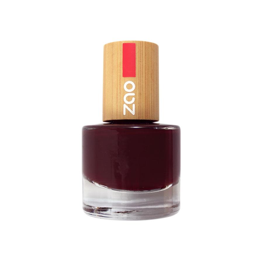 Zao MakeUp - Vernis à ongles : 659 Cerise noire