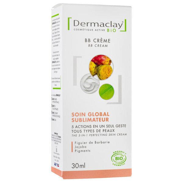 Dermaclay - BB Crème bio - Soin sublimateur peau parfaite 30ml