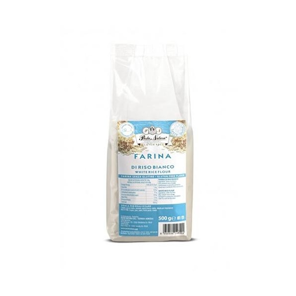 Saveurs de Tosca - Farine BIO de riz blanc Pasta Natura - 500 gr italien sans glute
