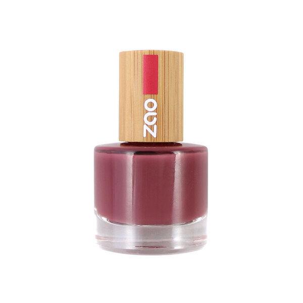 Zao MakeUp - Vernis à ongles : 667 Rose amarante