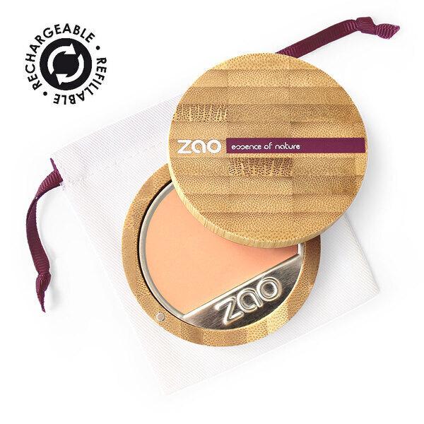 Zao MakeUp - Fond de teint compact Clair ivoire rosé
