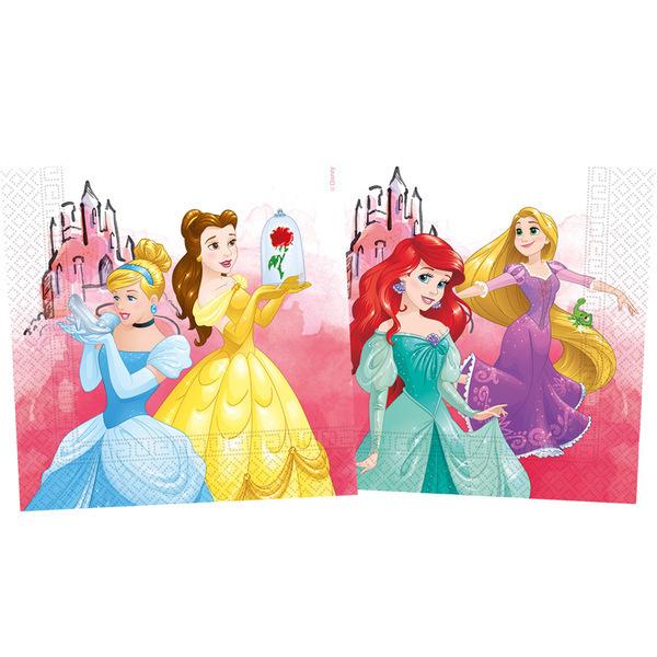 DECORATA PARTY - 20 Serviettes Princesse - Compostable