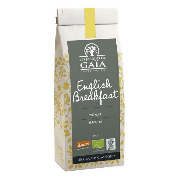 Les jardins de Gaïa - Thé noir English Breakfast Demeter 100g