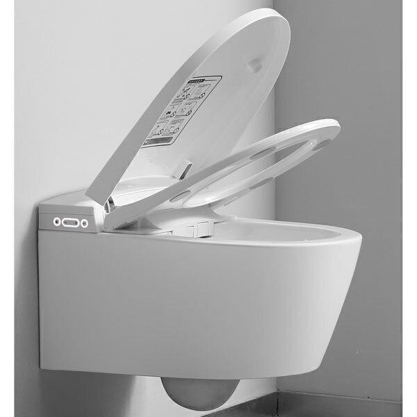 TopToilet - WC japonais suspendu Crystal Plus