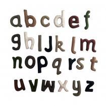 PAPOOSE TOYS - Alphabet en laine feutree - les minuscules