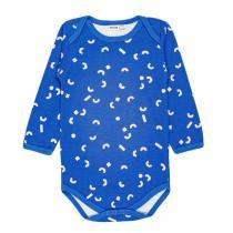 Trixie baby - body bebe 12 mois manches longues, Bleu