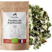 Chabiothé - Framboisier Feuille Bio 200g - Origine France