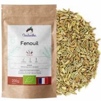 Chabiothé - Fenouil Bio 200g - Origine France