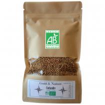 Goût et Nature - Graine de Coriandre BIO, 200 gr sachet refermable, idée cuisine
