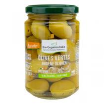 Bio Organica Italia - Olives vertes entières d'Italie Demeter 280g