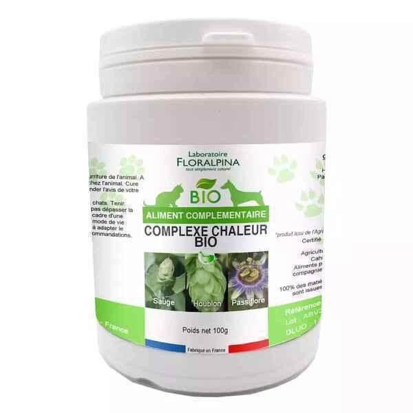 Floralpina - Complexe Chaleur Bio 100g pour chien et chat