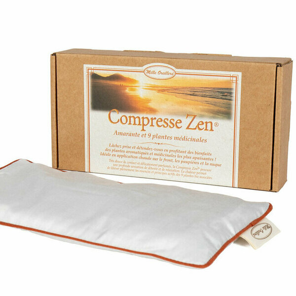 Mille oreillers - Compresse Zen® - Amarante et 9 plantes médicinales