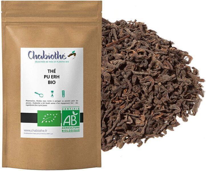 Chabiothé - Thé Pu Erh Bio 1 kg