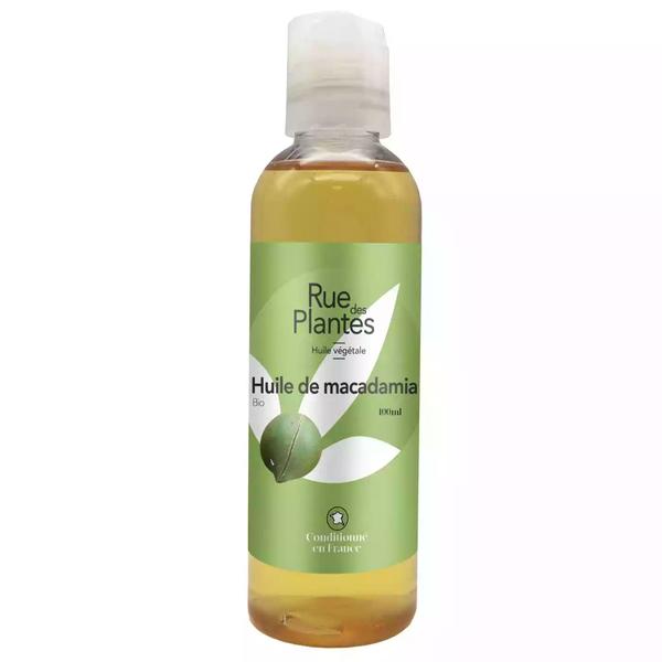 Rue des Plantes - Huile végétale de macadamia BIO - 100 ml