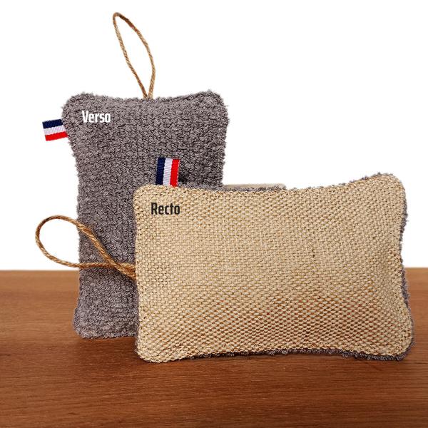 La Spongette - Éponge lavable réutilisable grattante et absorbante française