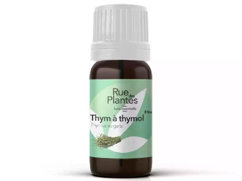 Rue des Plantes - Huile essentielle thym à thymol bio 10ml