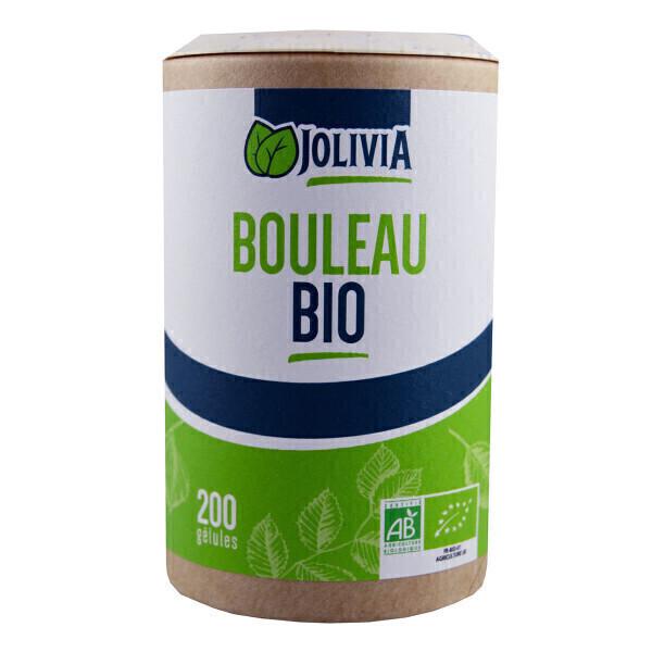 Jolivia - Bouleau Bio - 200 gélules végétales de 230 mg