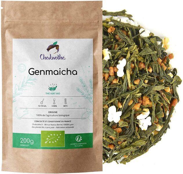 Chabiothé - Thé vert Genmaicha Bio 200g