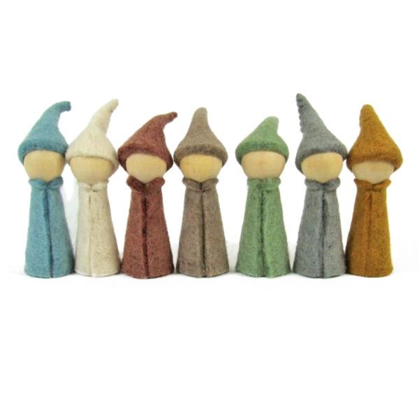 PAPOOSE TOYS - Gnomes Earth - set de 7