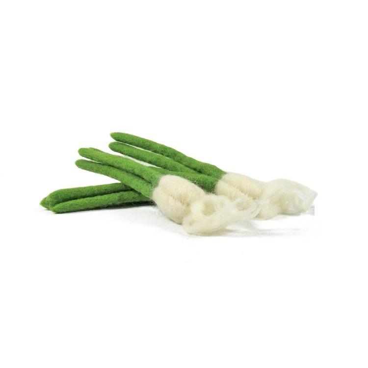 PAPOOSE TOYS - Mini légumes en laine feutrée - 3 ails