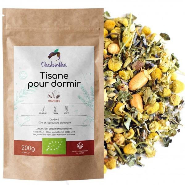 Chabiothé - Tisane pour Dormir Bio 200g