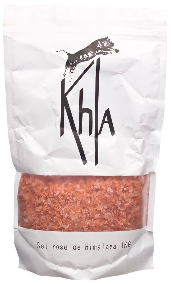 Khla - Sel rose de l'Himalaya en vrac - 1kg