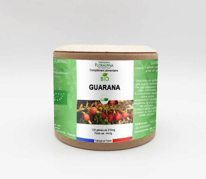 Rue des Plantes - Guarana BIO 120 gélules