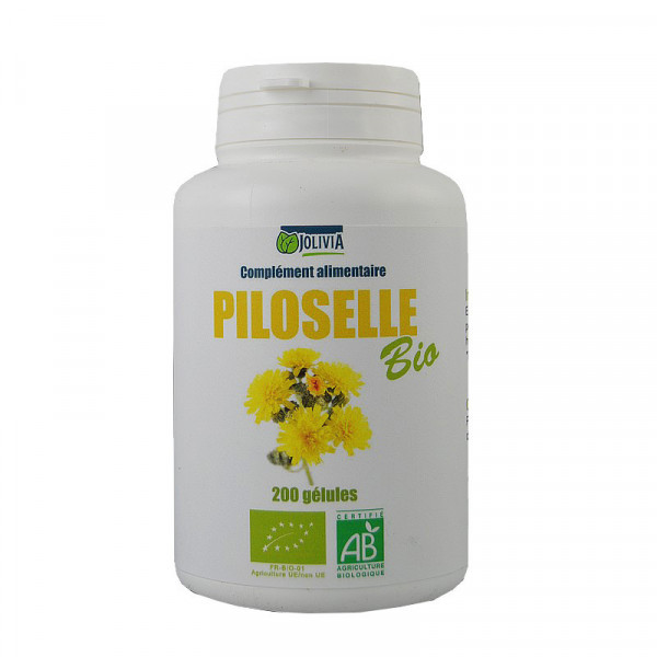 Jolivia - Piloselle Bio - 200 gélules végétales de 200 mg