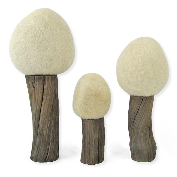 PAPOOSE TOYS - Arbres d'hiver Earth - set de 3