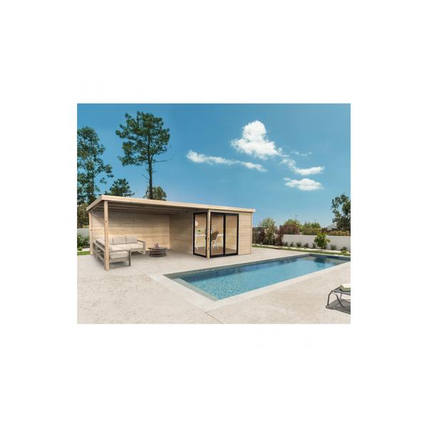 Solid - Abri de jardin SAGRES 3040 x 3040 + 3950 mm